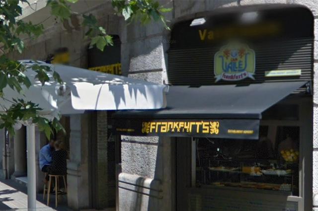Frankfurt Paris-Valdouro - Locales autorizados por Casa Vallés