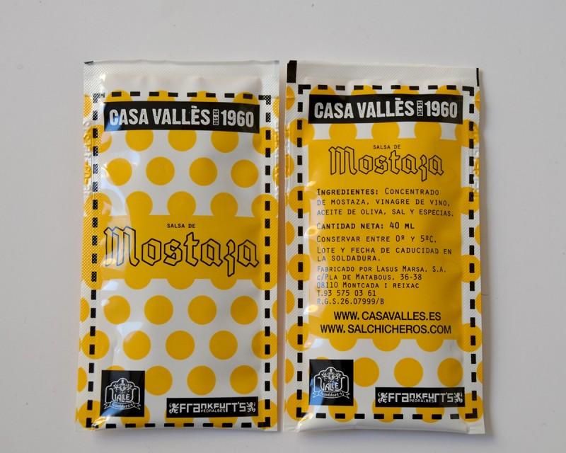 Comprar Salsa Mostaza (pack de 50 bolsitas)