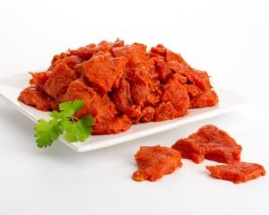 Pincho Rojo a dados (Pack de 1 Kg.) al Vacio