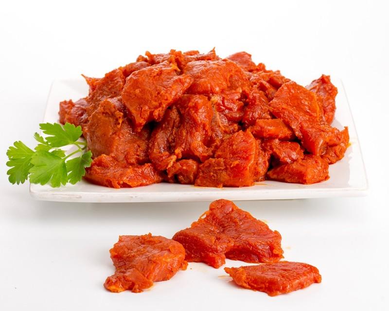 Comprar Pincho Rojo a dados (Pack de 1 Kg.) al Vacio