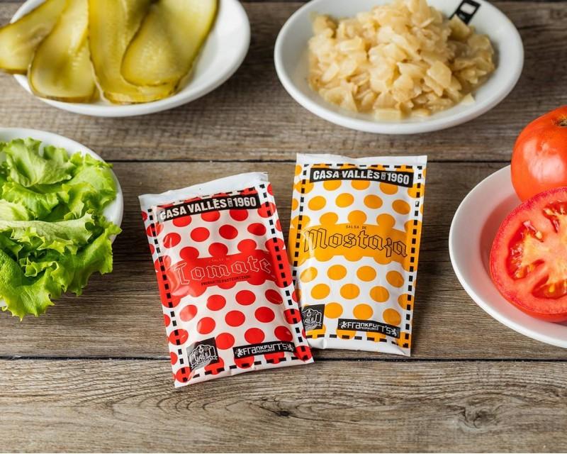 Venta Monodosis de Salsa Mostaza (pack de 6 unidades)