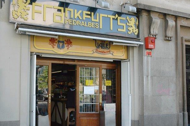 Frankfurt Pedralbes 2 - Casa Vallés - Jordi Girona 4 - Barcelona