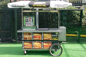 Alquiler Carrito Hot Dogs