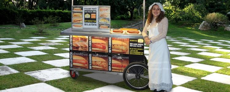 Alquiler Carrito Food Truck Perritos Calientes